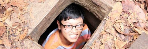Vietnam school tours Cuchi Tunnel – a live Museum of War