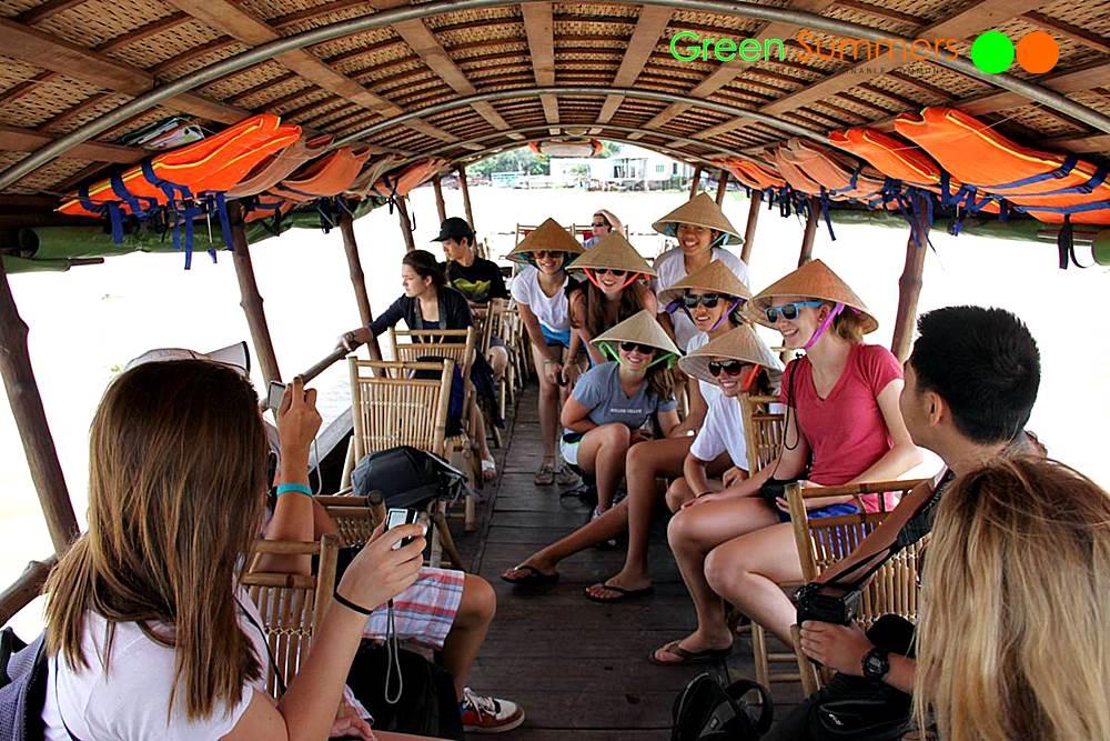 Vietnam School Tour Mekong